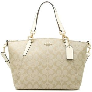 Coach F28989 Small Kelsey Satchel Signature